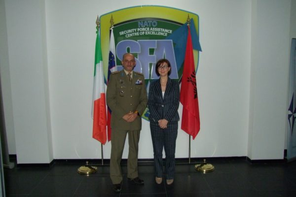 Albanian Ambassador and NATO SFA COE Director