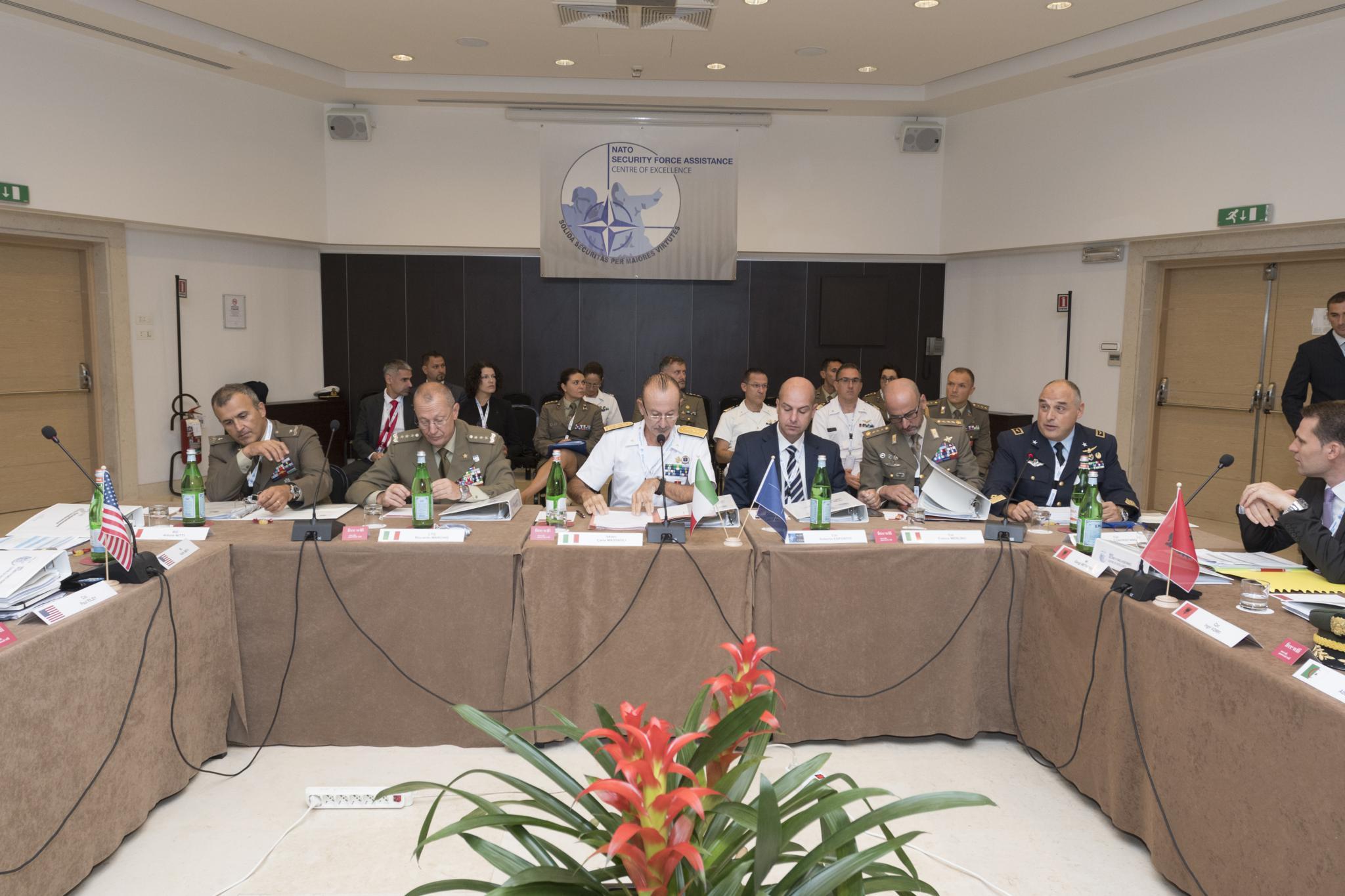 Conclusa la 2nd Establishment Conference che segna un nuovo passo in avanti per l'accreditamento alla NATO del centro offerto dall'Italia.