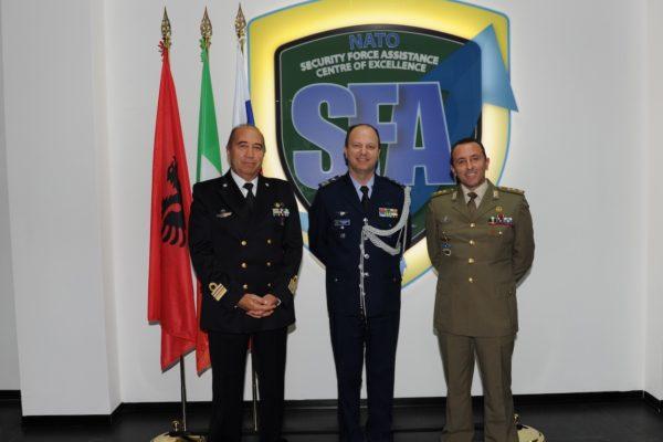 11. visita NATO SFA COE