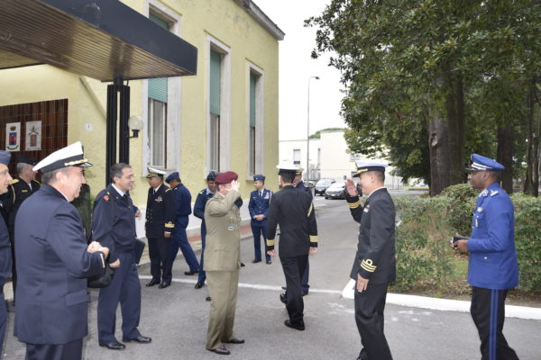 Foreign military attachés visit