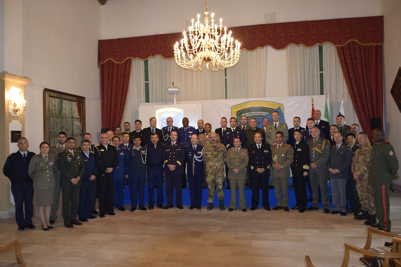 NATO SFA COE: Visit by the Foreign Military attachés