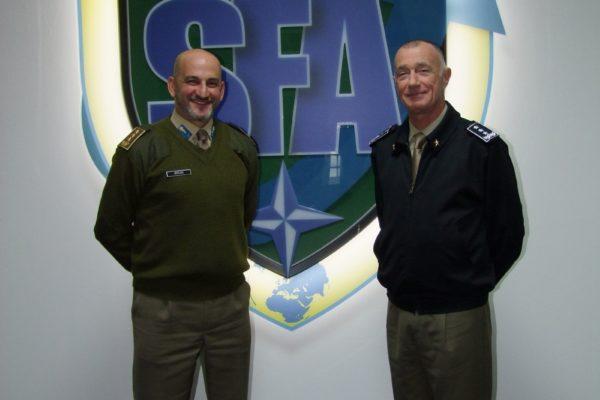 NATO SFA COE Director and NRDC-ITA Commander