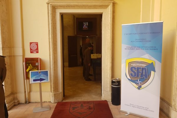Conference entrance