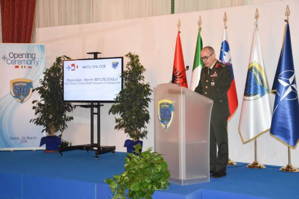 Deputy Chief of Staff Resource & Management  of ACT, Major General Nerim Bitlislioglu's  speech