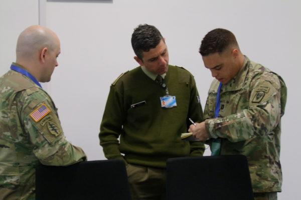 US Army delegation visit