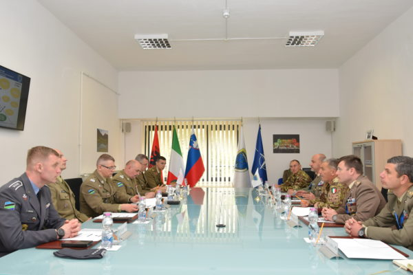 Moment of the meeting