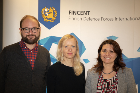 Protection of civilians (PoC) Course organized by the Finnish Defence Forces International Centre (FINCENT): NATO SFA COE highlighted the importance to include the PoC  in the SFA activities.