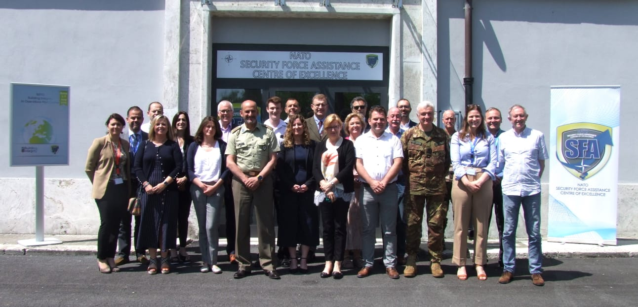 "NATO SFA COE and NATO HQ co-organized the ""NATO Building Integrity in Operations"" (BIIO) pilot course."