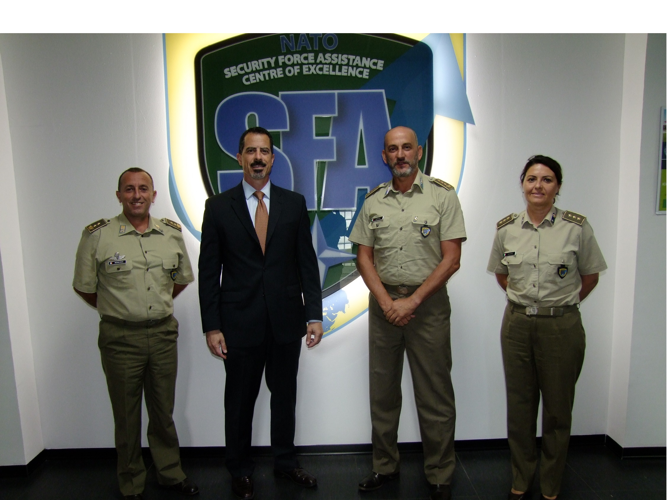 NATO SFA COE and the NATO HQ International Staff signed a Memorandum of Cooperation