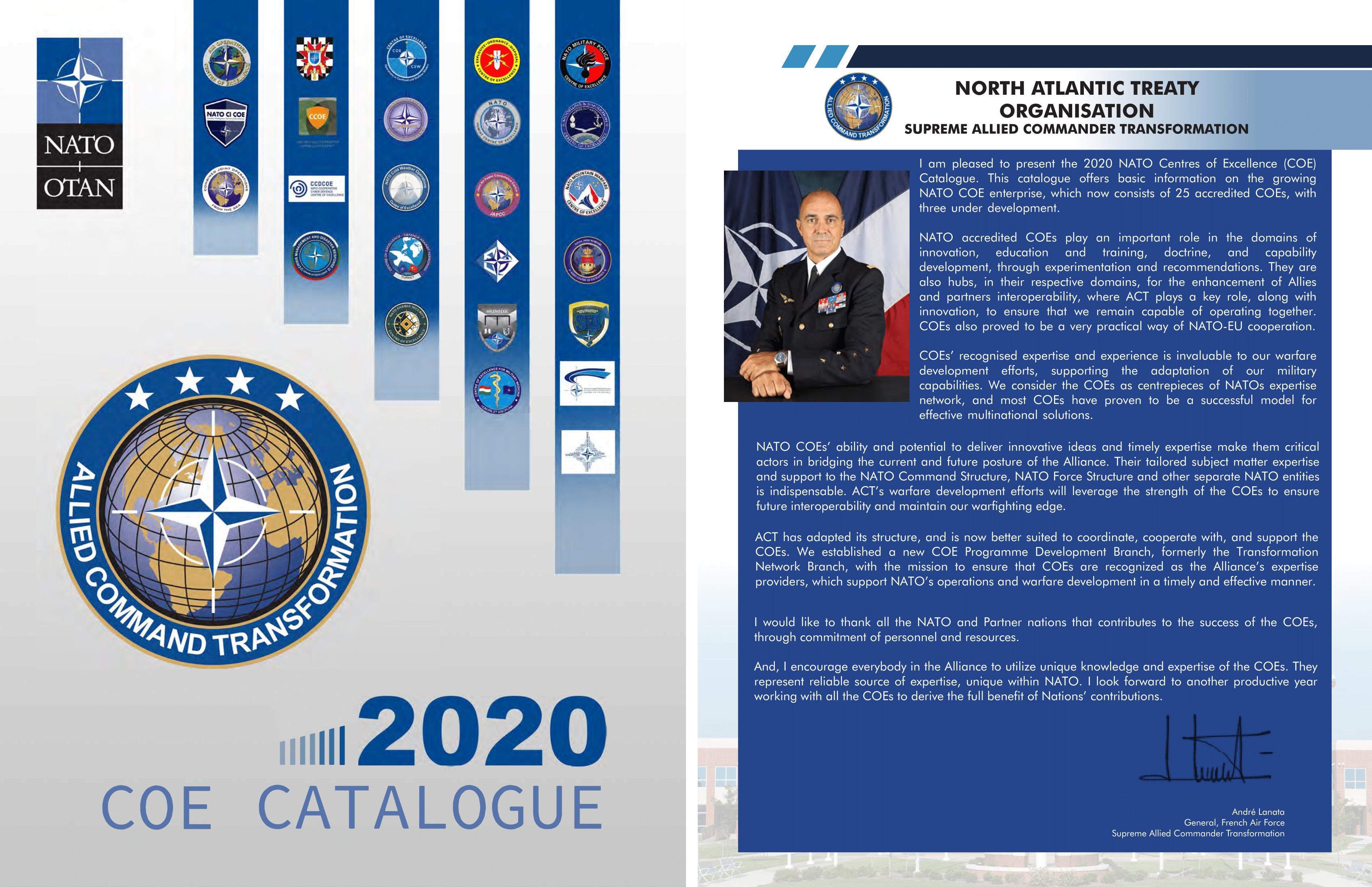 COE CATALOGUE 2020