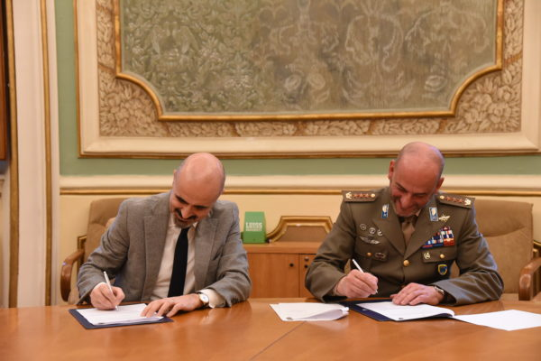 Agreement signing between Director and LUISS University General Manager
