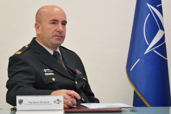 Maj. Robert MLAKAR (Slovenian representative)