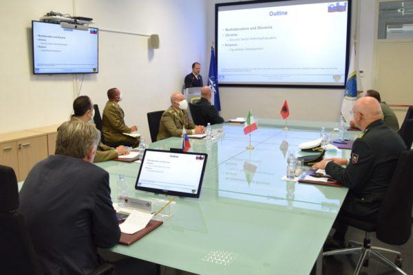 Briefing on NATO Capacity Building
