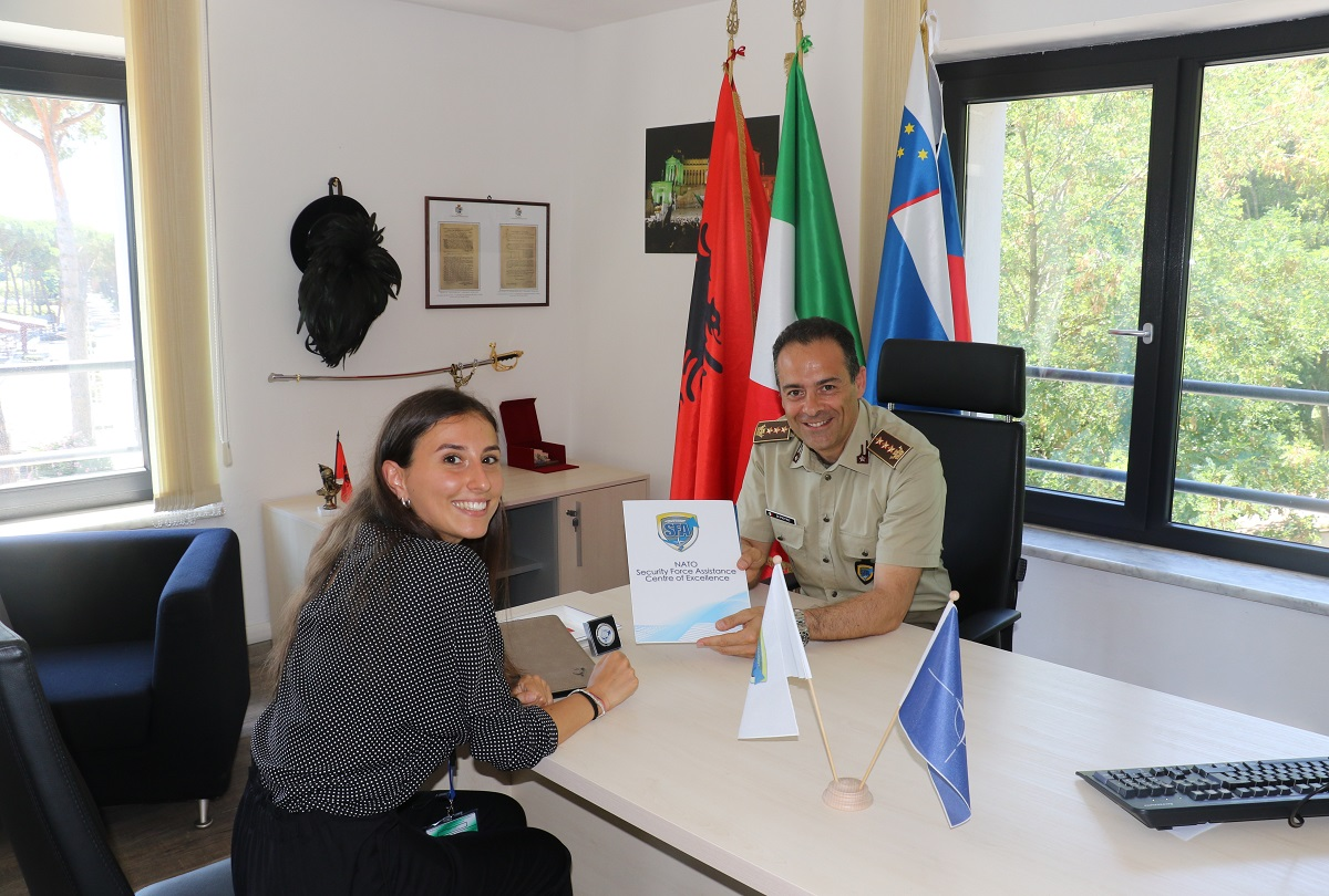 NATO SFA COE and LUISS University have launched the Internship project