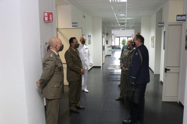 The Defence Attaché of the Netherlands visit