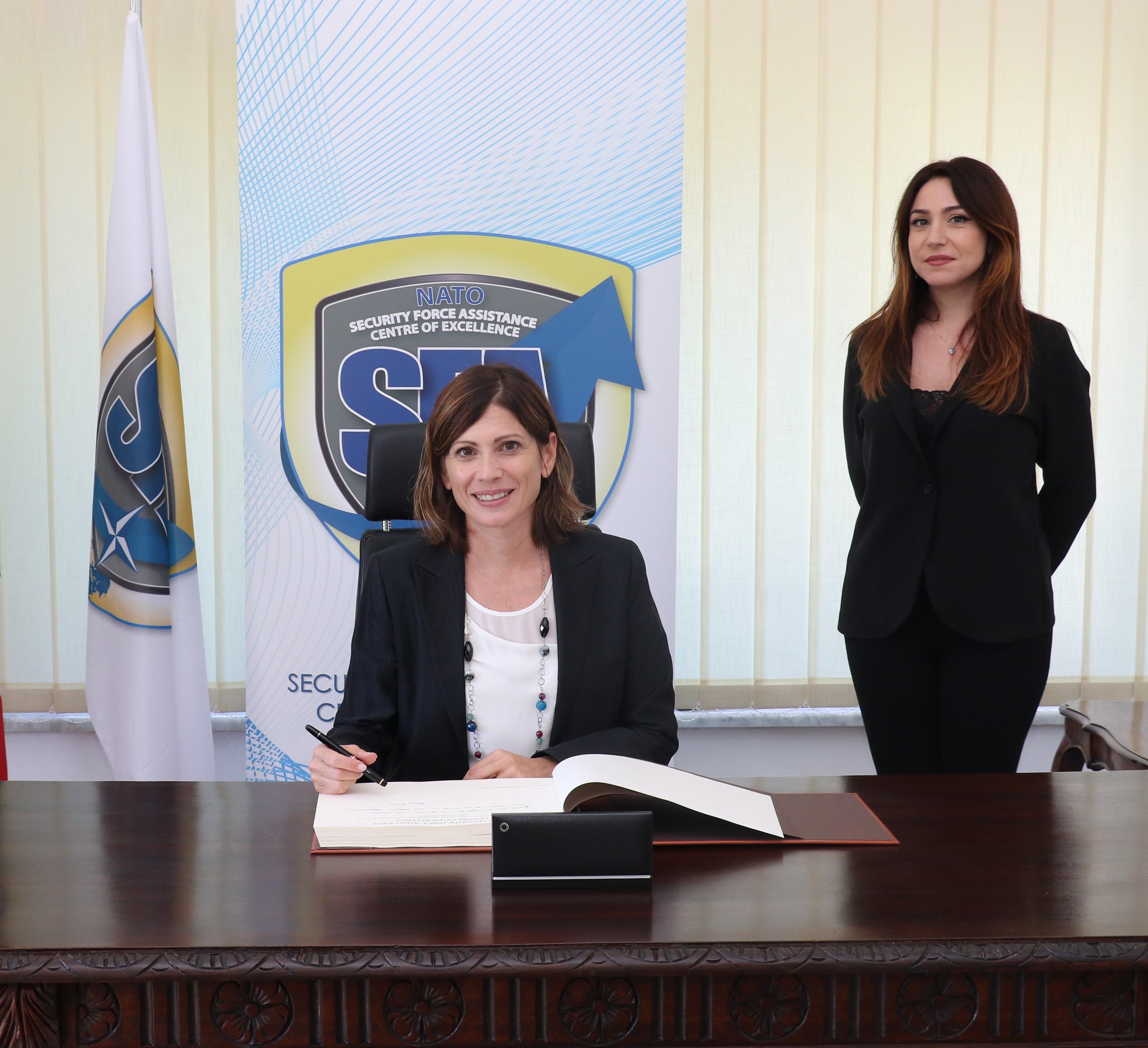 Interview with Mrs Irene FELLIN – President of Women In International Security (WIIS) Italy