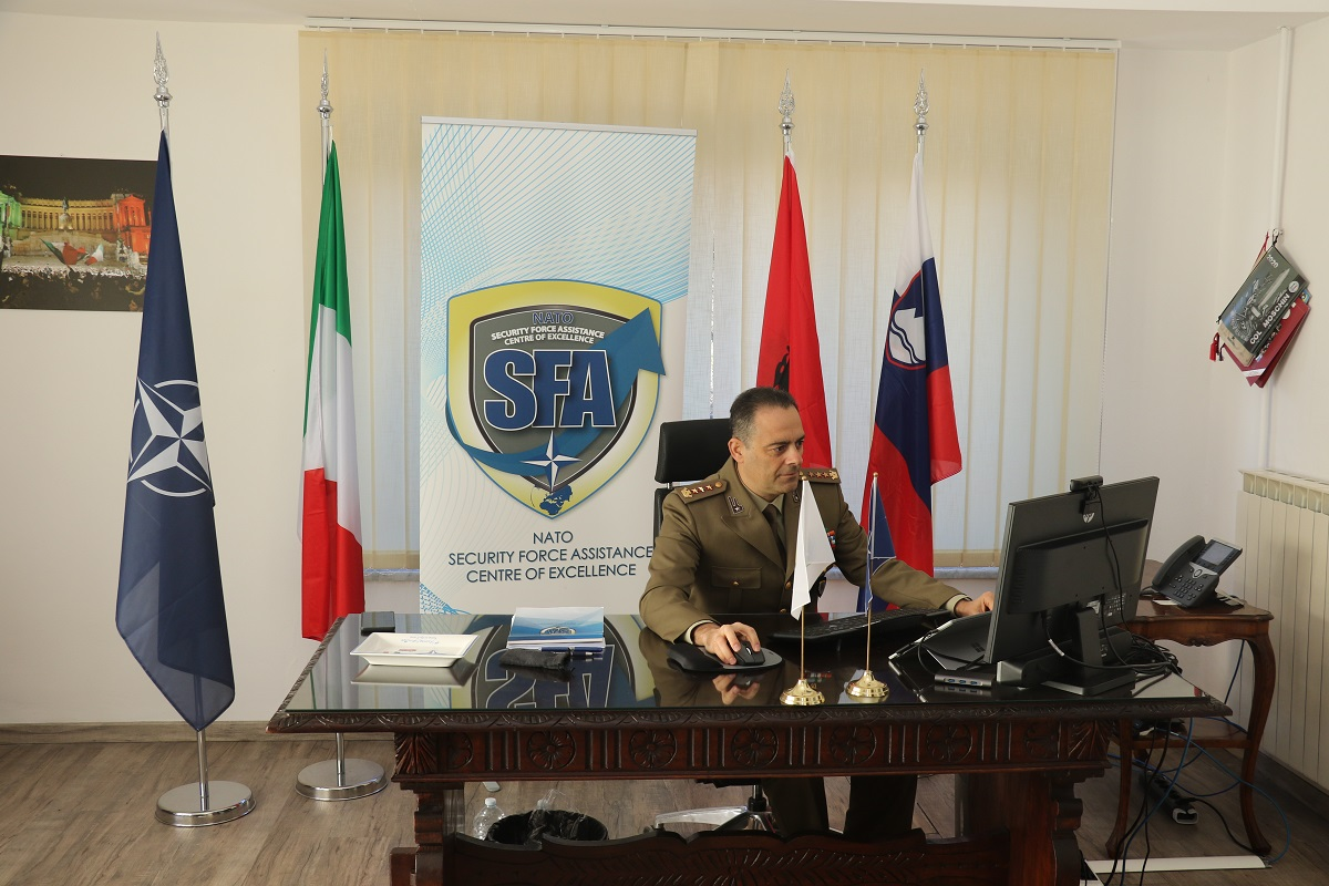 NATO SFA COE Director lectured the IASD