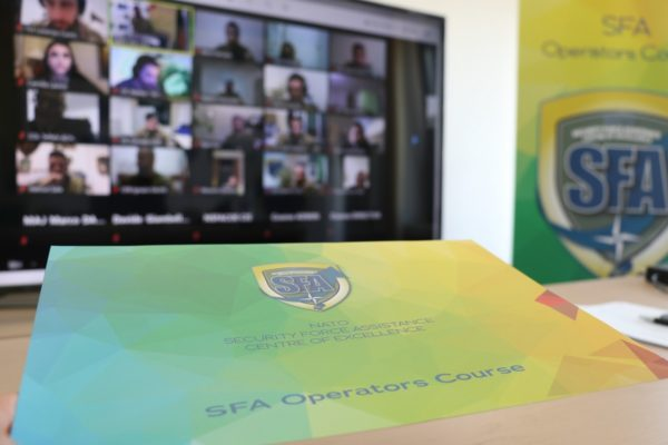 SFA Operators course lesson