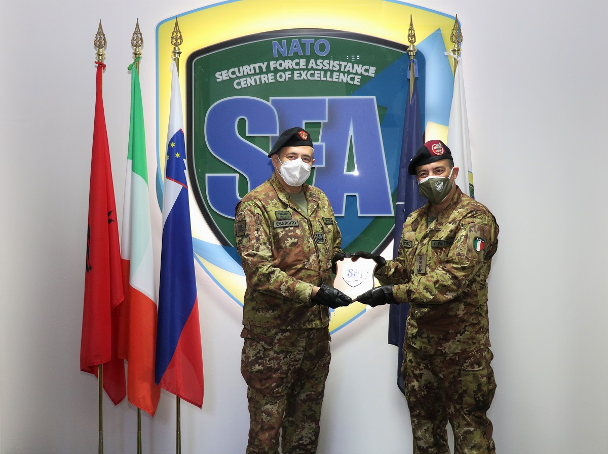 LTG Antonio VITTIGLIO visited the NATO SFA COE