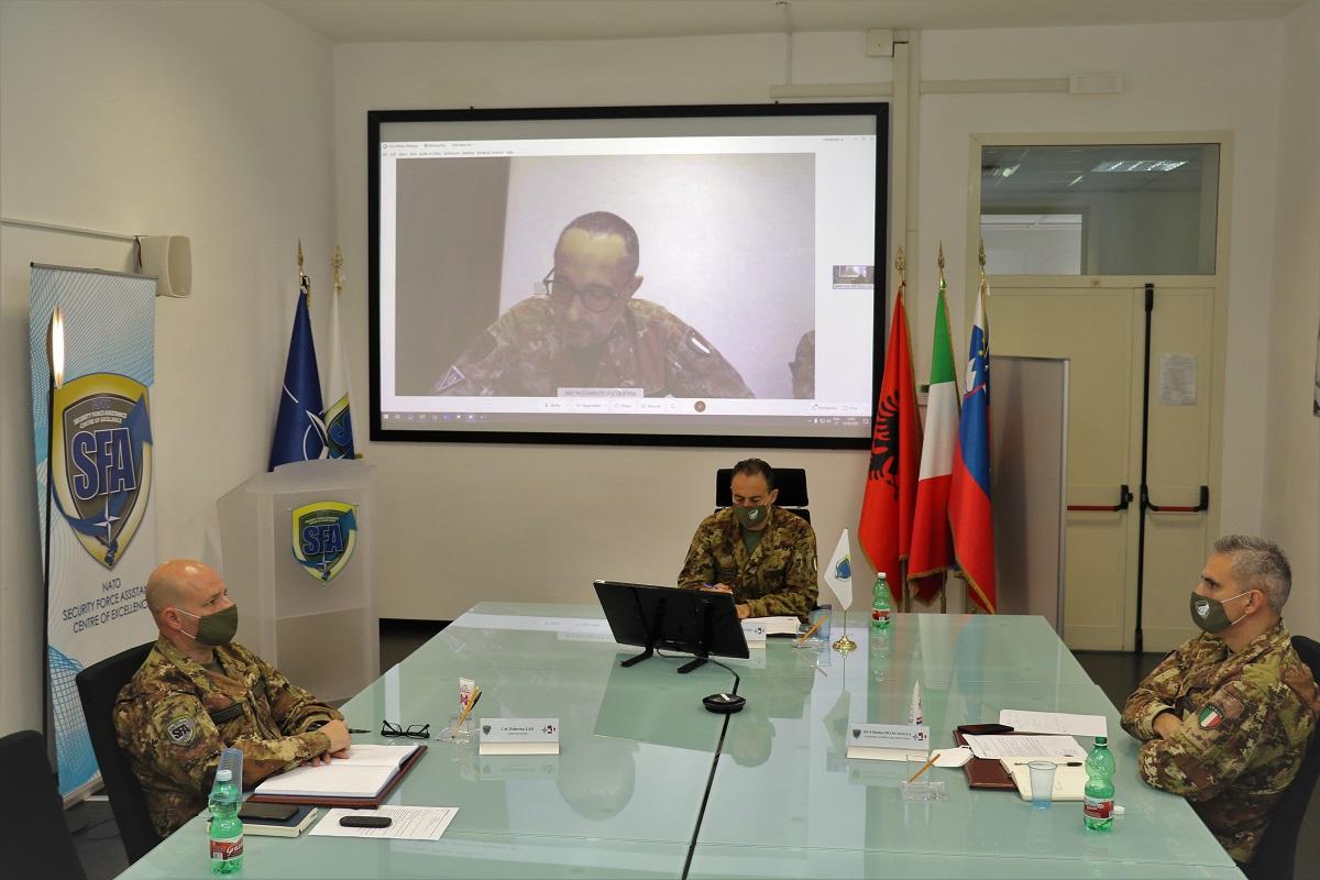 NATO SFA COE interviewed the B.G. Alberto Vezzoli