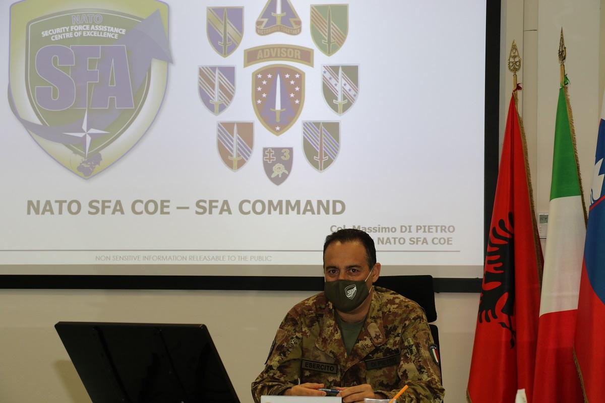 Virtual Meeting Between NATO SFA COE and the SFAC