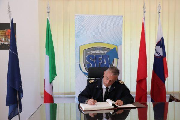 R. A. Vincenzo Montanaro visit