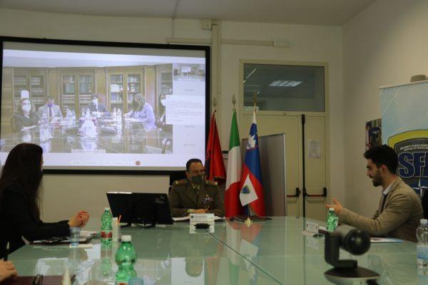 """Director and LUMSA students co-founders of """"Cenacolo di Studi Diplomatici e internazionali"""""""