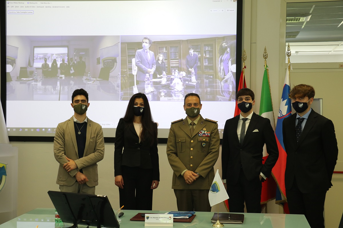 NATO SFA COE and LUMSA sign a cooperation agreement
