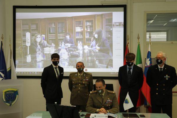 Interns with NATO SFA COE tutors