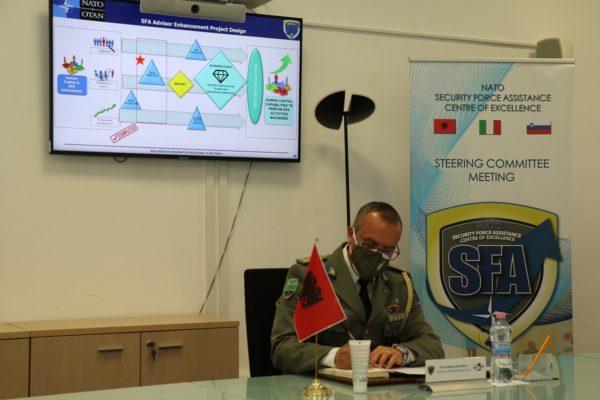 NATO SFA COE Albanian Representative