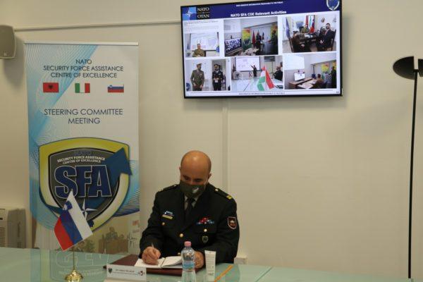 NATO SFA COE Slovenian Representative