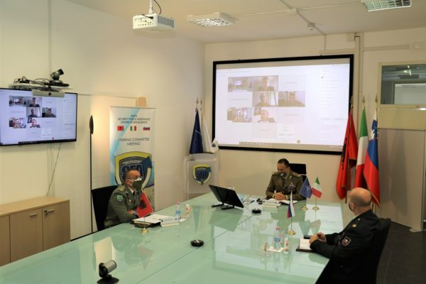 NATO SFA COE virtual meeting