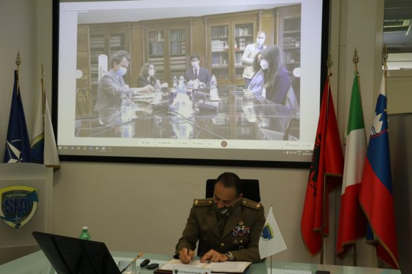 Signing of the cooperation agreement