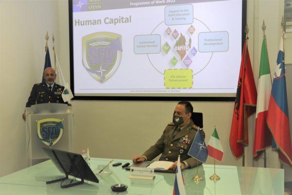 new Institutional Advisor Course presentation