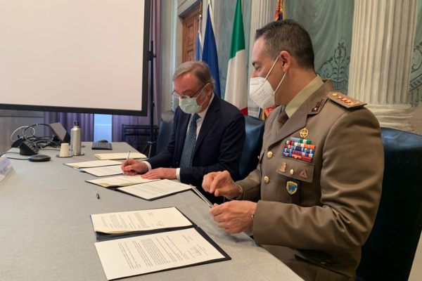Agreement of cooperation signing