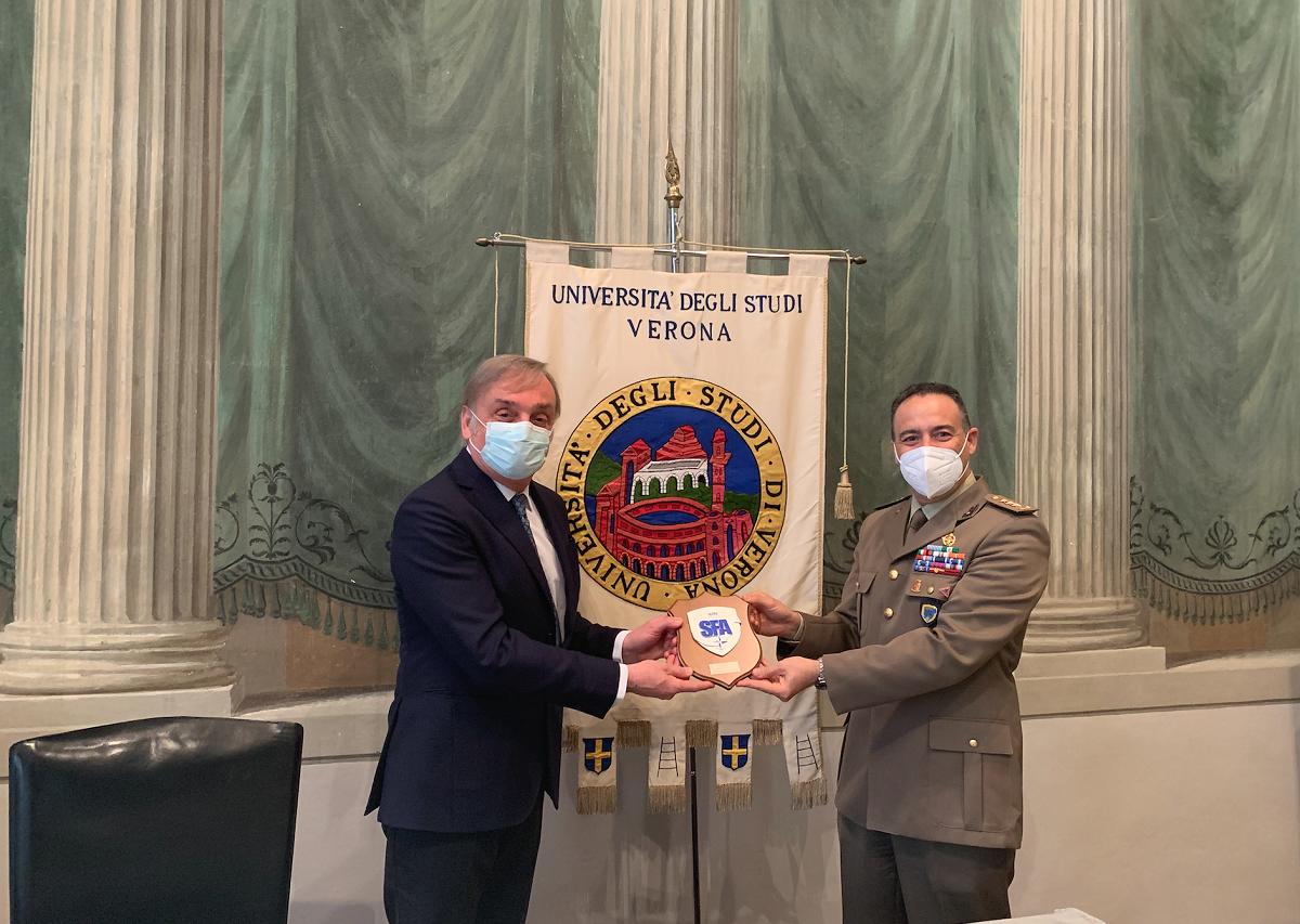 Agreement between NATO SFA COE and the University of Verona