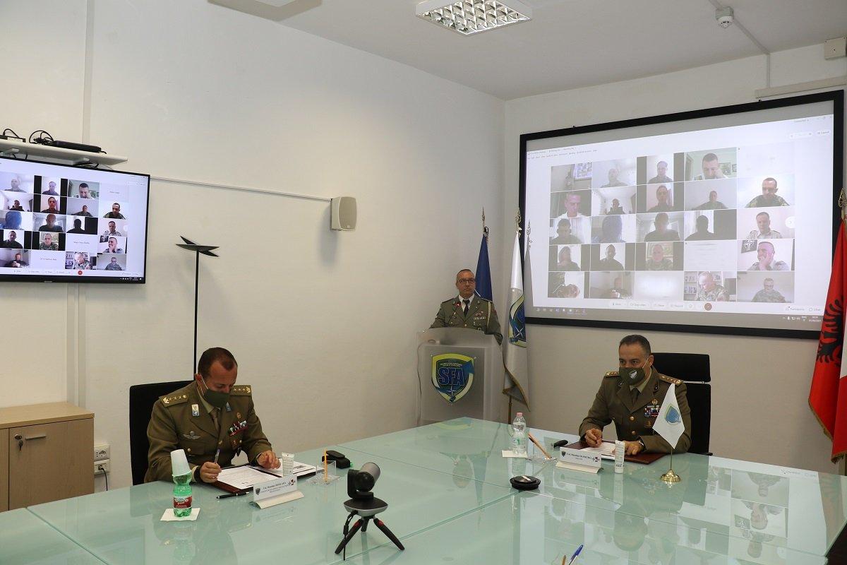 NATO SFA COE: lesson to the Albanian Military Academy