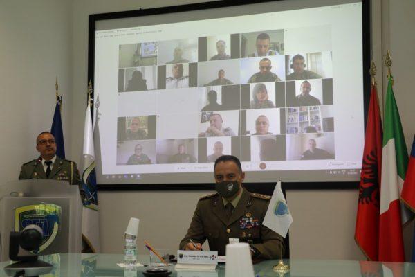 NATO SFA COE Director and the Albanian Representative