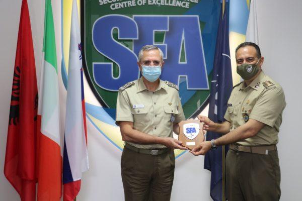 NATO SFA COE crest gift