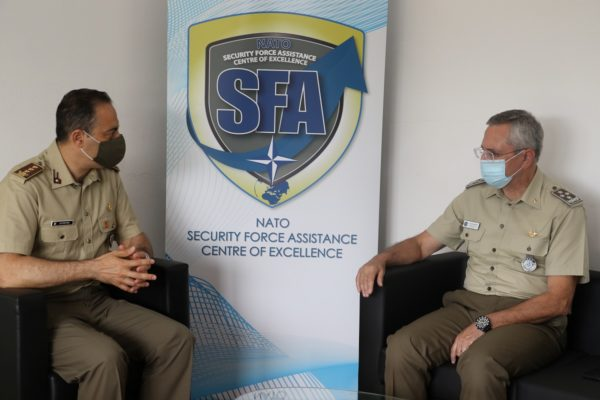 Office call with Gen. Paolo Ruggiero