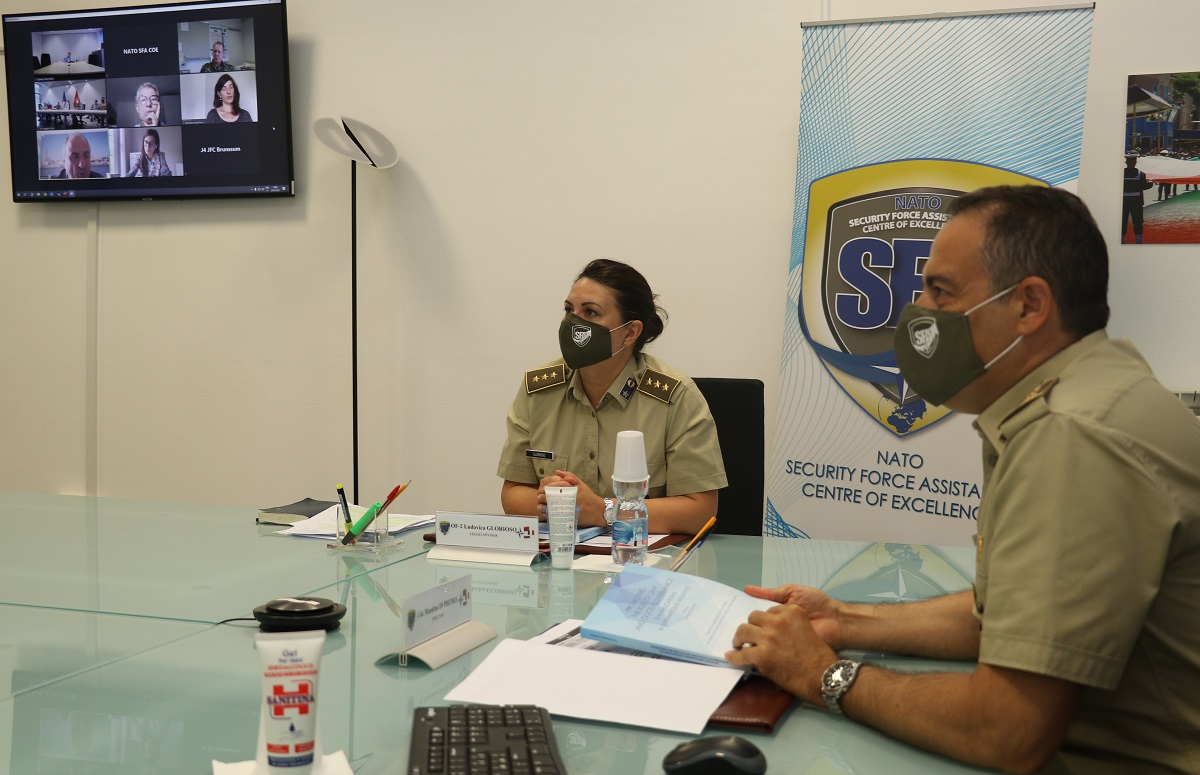 NATO SFA COE's participation in the Building Integrity Focal Point Training