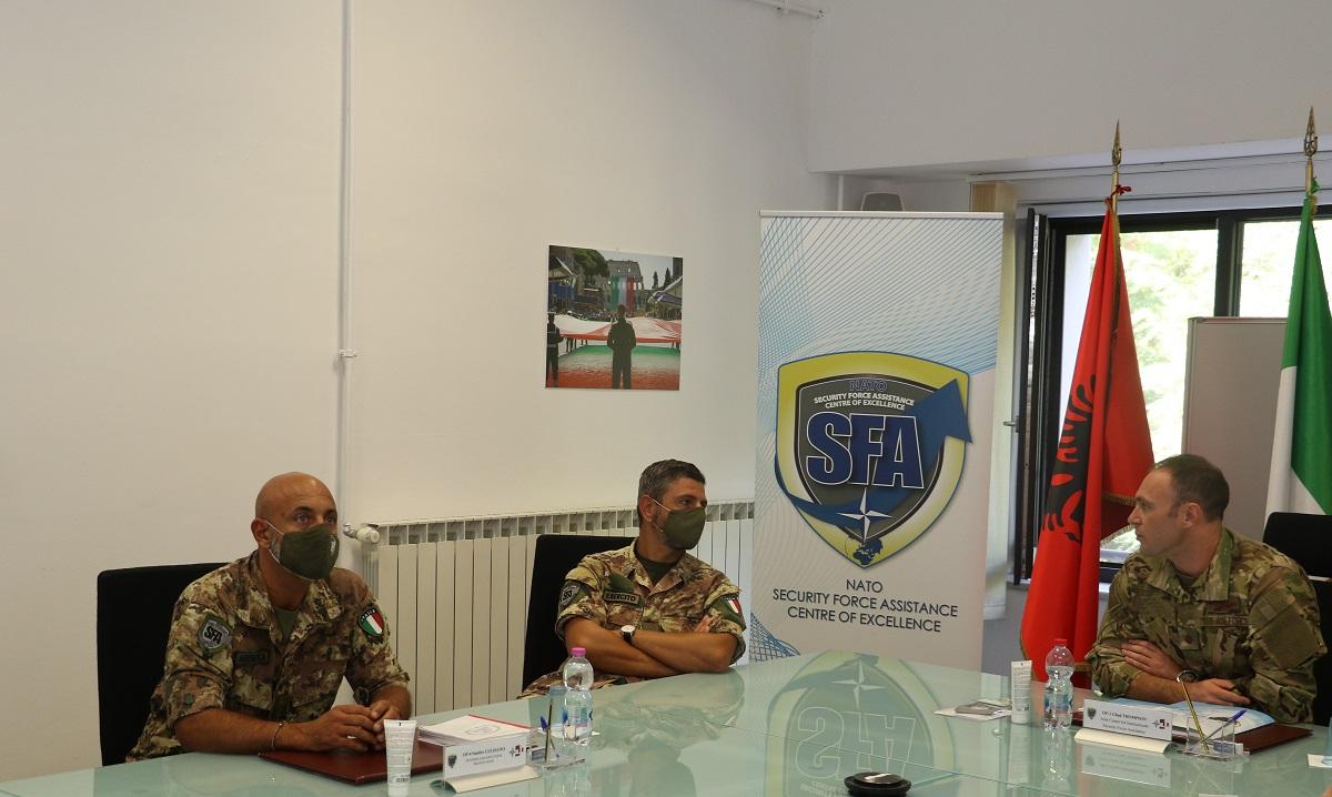 Cooperation between NATO SFA COE and US JCISFA