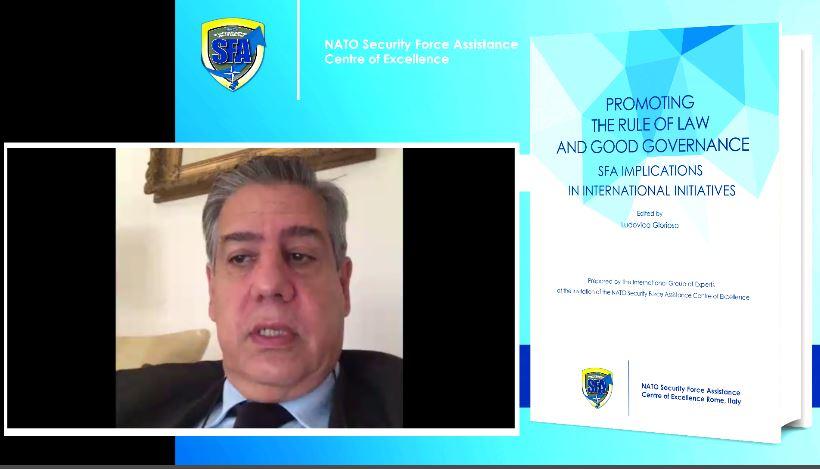 Virtual book launch: H.E. Ambassador Pontecorvo's address