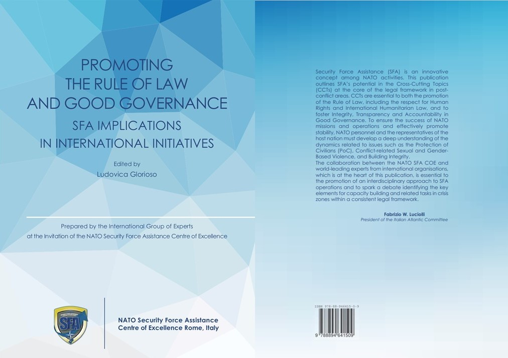 """BOOK LAUNCH : """"PROMOTING THE RULE OF LAW AND GOOD GOVERNANCE- SFA IMPLICATIONS IN INTERNATIONAL INITIATIVES"""""""
